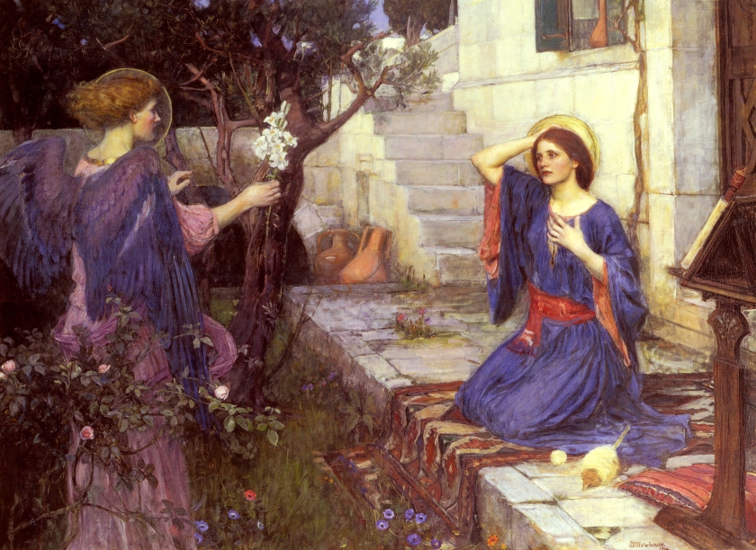 John_William_Waterhouse_-_The_Annunciation